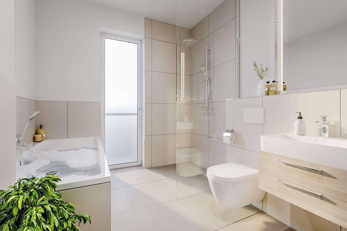 Viktoria Viertel Badezimmer