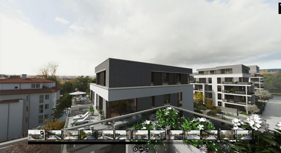 360° Aussicht Viktoria Viertel